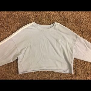Hollister Large Oversized Crop Long Sleeve